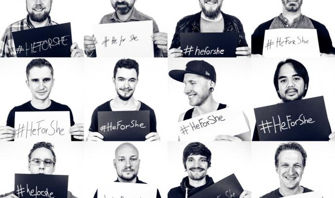 Campanya #HeForShe Font: #HeForShe