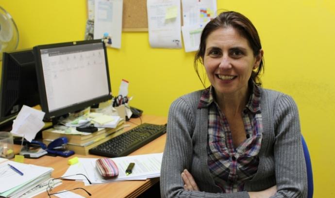 Helena Palau, presidenta de la xarxa ciutadana Ravalnet
