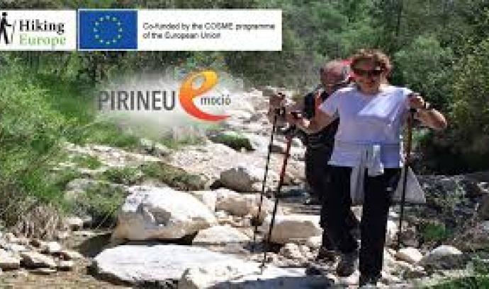 El projecte Hiking Europe promou itineraris de senderisme a Europa (imatge: rineu Emoció) Font: