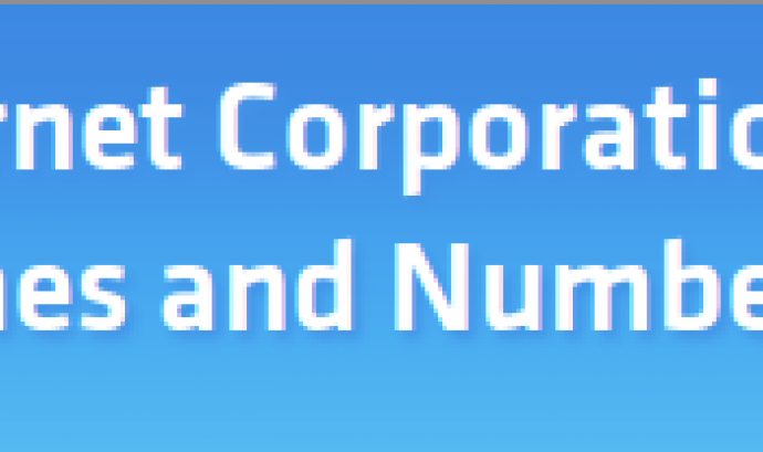 Internet Corporation for Assigned Names and Numbers, ICAAN Font: