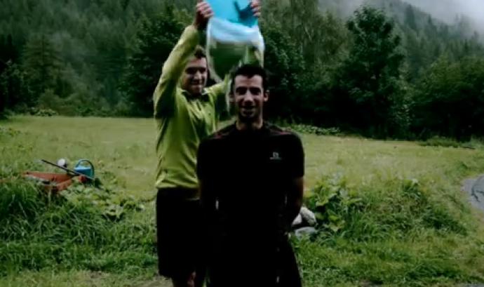 Kilian Jornet també va participar a l'Ice Bucket Challenge Font: