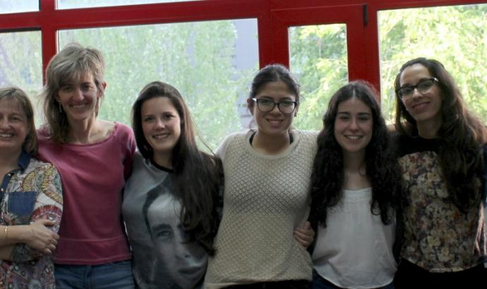 Estudiants i personal tècnic i docent del projecte Font: