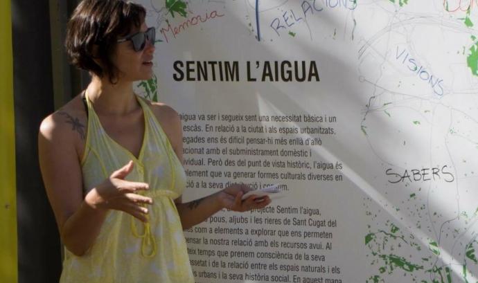 Roberta de Carvalho és cofundadores de Territoris Oblidats Font: Territoris Oblidats