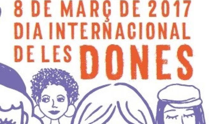 Cartell del programa d'actes amb motiu del Dia de la Dona a Lleida. Font: Ajuntament de Lleida