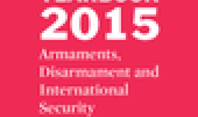 Imatge il·lustratiu de la portada anuari SIPRI 2015