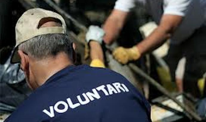 Persona voluntaria. Font: Bloc de la nació Font: