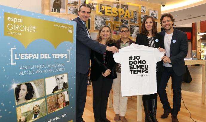 L'Espai Gironès i 18 entitats promouen una campanya solidària per incentivar el voluntariat  Font: