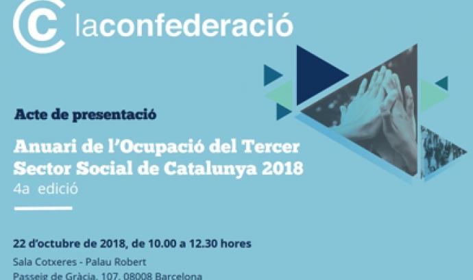 Presentació de l'Anuari de l'Ocupació del Tercer Sector Social de Catalunya