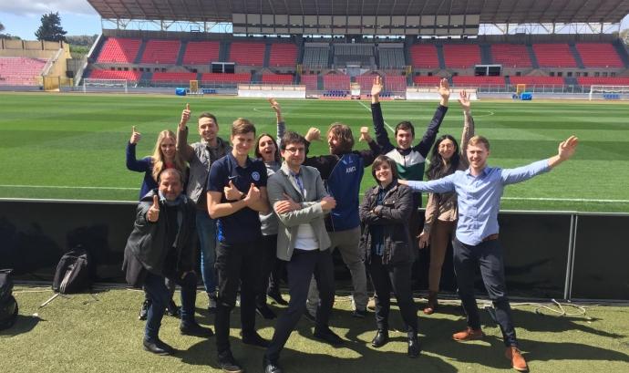 L'Associació de Futbol de Malta va albergar la primera trobada del projecte #PlayGreen els passats dies 27 i 28 de març de 2019.  Font: Ecoserveis