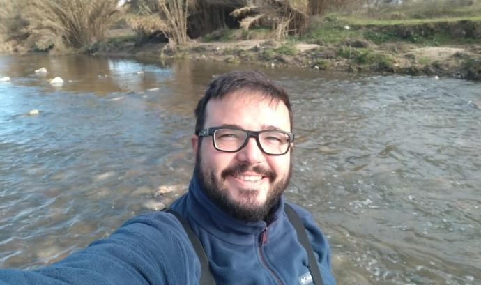 Dani Fernández és el president de GRENP (Grup de Recerca de l'Escola de la Natura de Parets del Vallès), entitat que ha col·laborat en la valoració de l'impacte ecològic Font: Dani Fernández