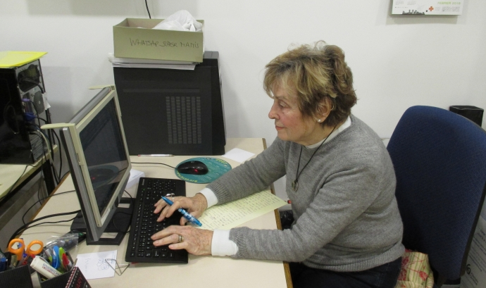 María Mercedes Bielsa García, voluntària de l'Associació Catalana de Fibrosi Quística Font: Associació Catalana de Fibrosi Quística