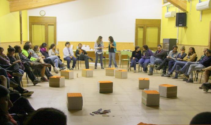 Formació de l'Escola de Formació de MEG / Foto: Minyons Escoltes i Guies de Catalunya Font: