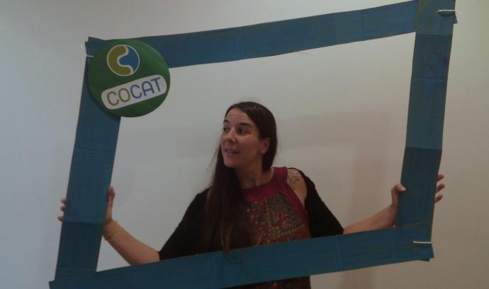 Rosa, responsable de les formacions de voluntariat a COCAT. Font:COCAT Font: