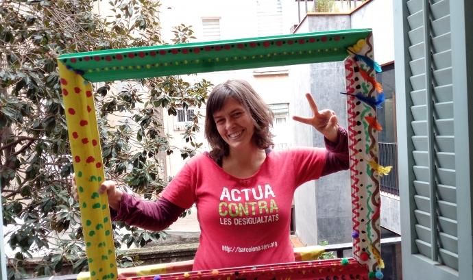 Laia Bernués, delegada territorial d'AFEV Barcelona. Font: Laia Bernués