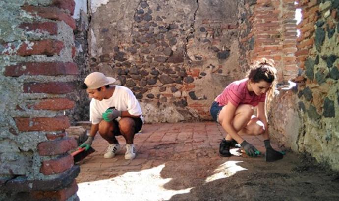 Un camp de voluntariat pretén despertar la consciència per a la transformació social a través de l'experiència intercultural i del treball voluntari. Font: Servei Civil Internacional de Catalunya