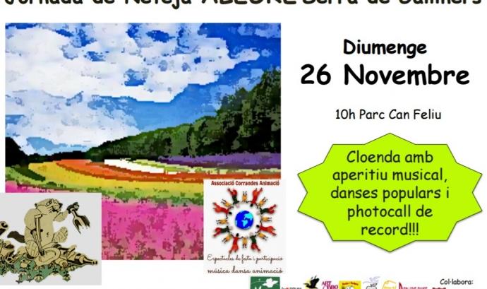 Jornada de voluntariat ambiental a la Serra de Galliners amb Depana i Sant Quirze del Vallès Natura