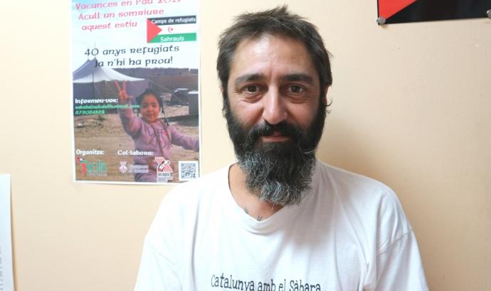 Marcos Costa, coordinador del programa 'Vacances en Pau' al Vallès Occidental.