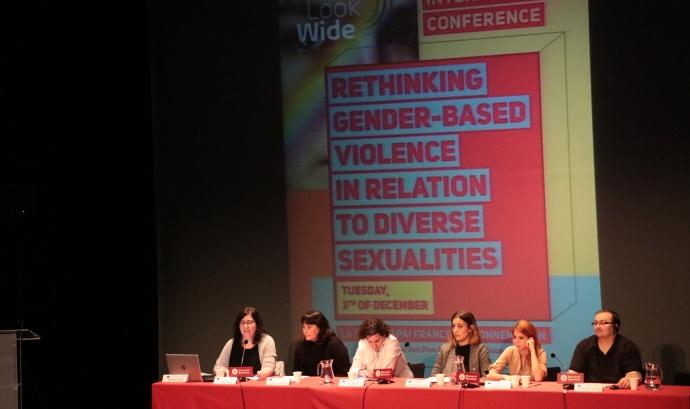"""El projecte europeu """"Look Wide"""" busca atendre les violències amb una mirada àmplia. Font: IdemTV"""