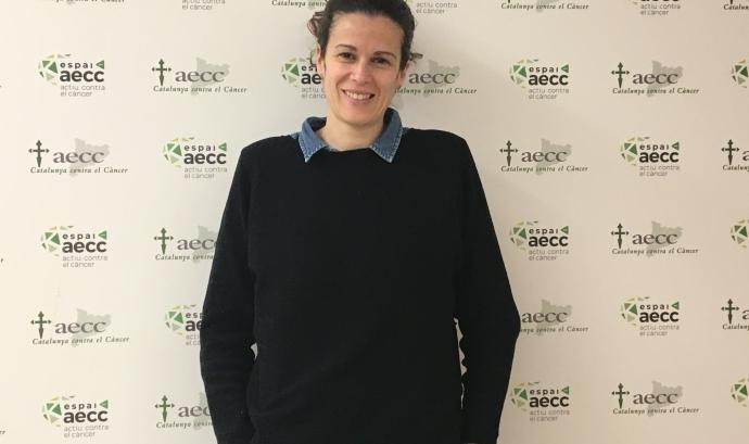 La Teresa López-Fando és psicooncòloga i coordinadora de Programes i Serveis de l'AECC. Font: AECC