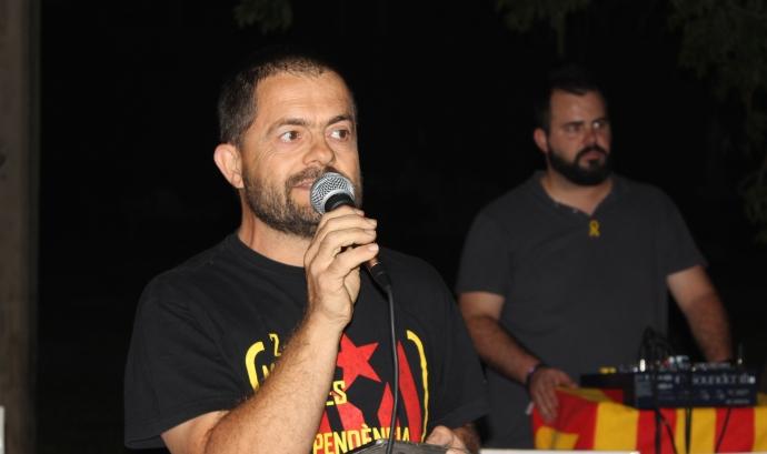 Xavier Salicrú, en un acte recent a Palafolls