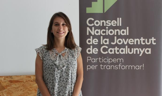 Georgina Rodríguez, responsable de l'àrea de gènere del CNJC i membre del Secretariat. Font: CNJC