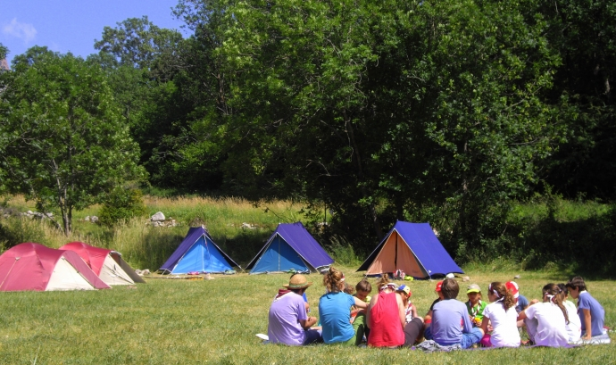 Campaments d'estiu Font: Minyons Escoltes i Guies de Catalunya