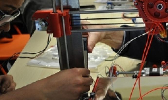 La impressió 3D ha popularitzat la fabricació digital. Font: Ultra-lab a Flickr