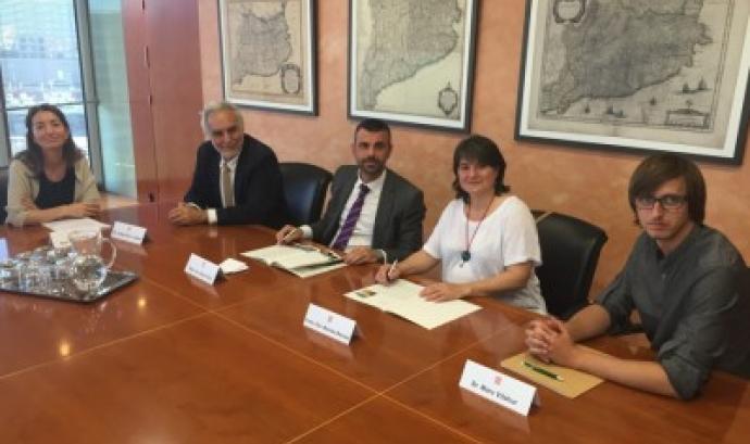 L'entitat Xarxa de Custòdia del Territori en un pla de treball conjunt amb l'administració (imatge: custodiaterritori.org)