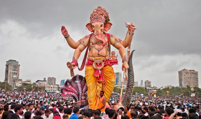 Dia de Ganesh a Mumbai, Font: sandeepachetan.com travel photography, Flickr