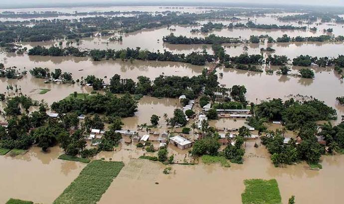 Inundacions a l'Índia Font: