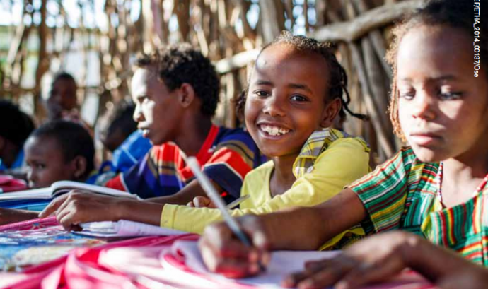 Una de les imatges de l'informe d'UNICEF