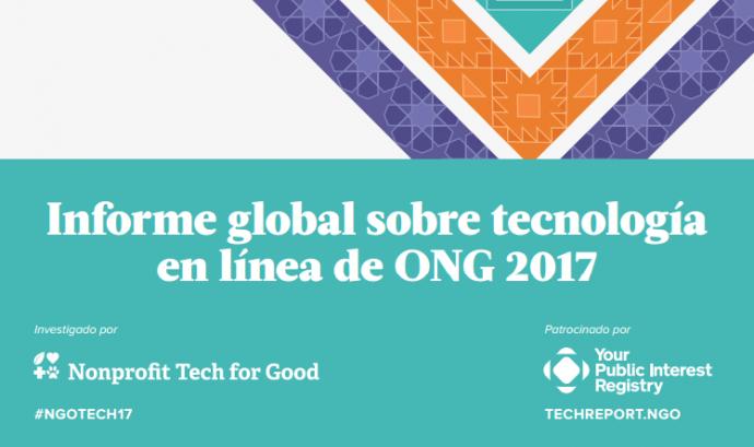 Publicat l'Informe Global sobre l'ús de la Noves Tecnologies per part de les ONG 2017 Font: