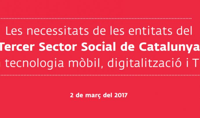 El tercer sector vol pujar al tren de la transformació digital Font: