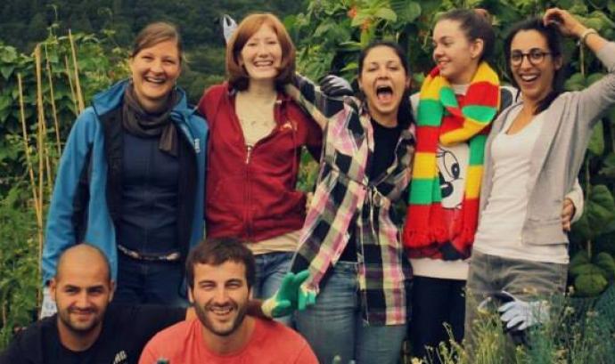 Intercanvi de joves. Foto de la Fundació Catalunya Voluntària Font: