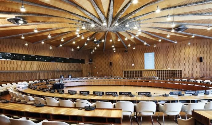 Sala de plens de la UNESCO