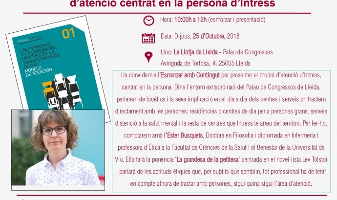 presentació a Lleida 25/10/18