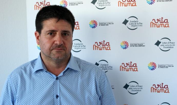 Ivan Pera, director de la Fundació Carta de la Pau dirigida a la ONU.  Font: Fundació Carta de la Pau dirigida a la ONU Font: