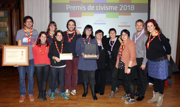 Premis Jaume Ciurana 2018 Font: Minyons Escoltes i Guies de Catalunya