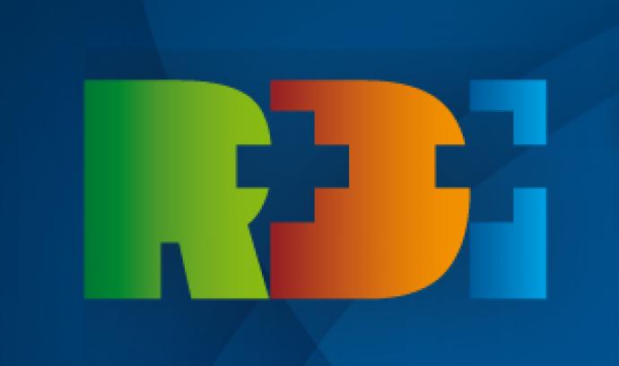 Logotip jornada R+D+I TIC Salut i Social