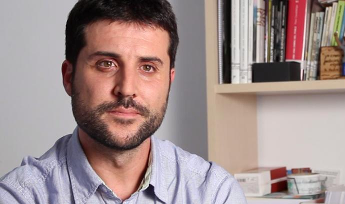 Jordi Calvo, coordinador del Centre Delàs per la Pau Font: Centre Delàs