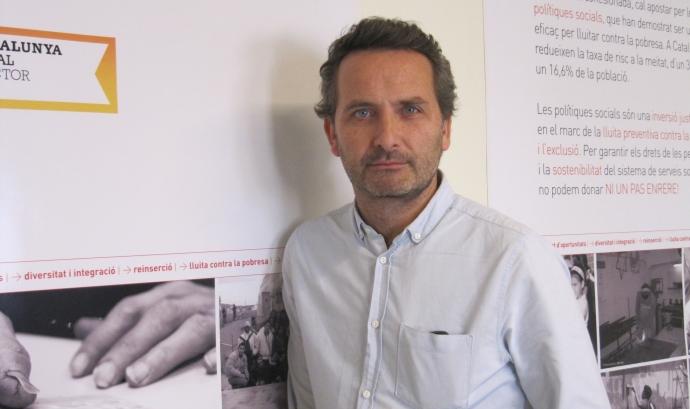 Jordi Gusi, gerent d'ECAS (Entitats Catalanes d'Accisó Social) Font: ECAS