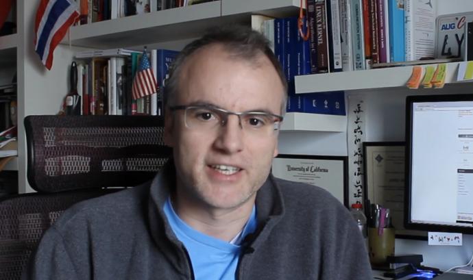 Jordi Ros és fundador i membre de l'equip de Labdoo Font: