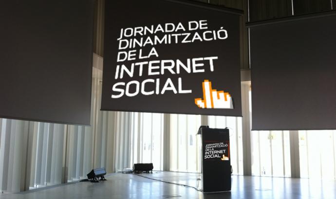 Jornada de dinamització de la Internet Social 2011 Font: