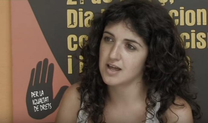 José Peñín, responsable de comunicació de SOS Racisme Catalunya. Font: Youtube Font: