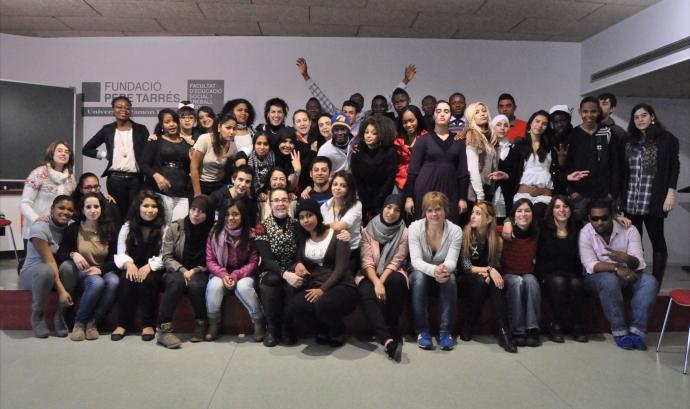 Joves del projecte YouthME. Font: www.youthme.eu Font: