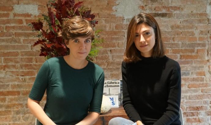 Fotografia de la Julia i la Nadia