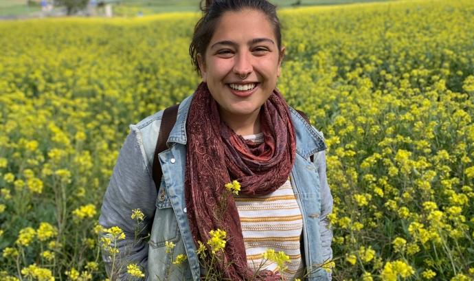 Laia Cuadro és orientadora laboral a la Fundació Integramenet, la seva tasca, però, s'amplia a molts altres àmbits. Font: Laia Cuadro