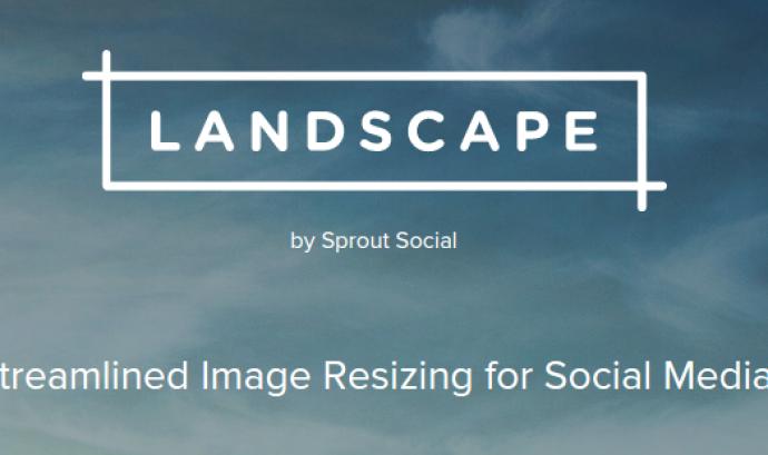 Edita les imatges per les xarxes socials amb Landscape! Font:
