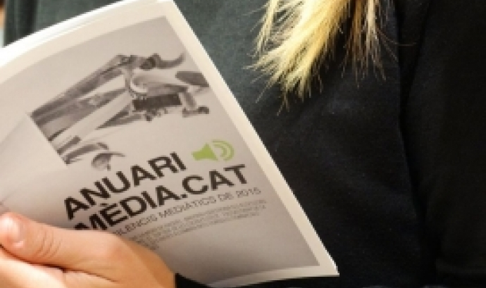 Anuari dels silencis mediàtics 2015 Font: Mèdia.cat