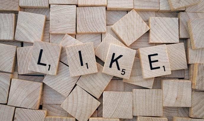 """""""Like"""" (m'agrada) a les xarxes socials. Font: Pixabay Font:"""